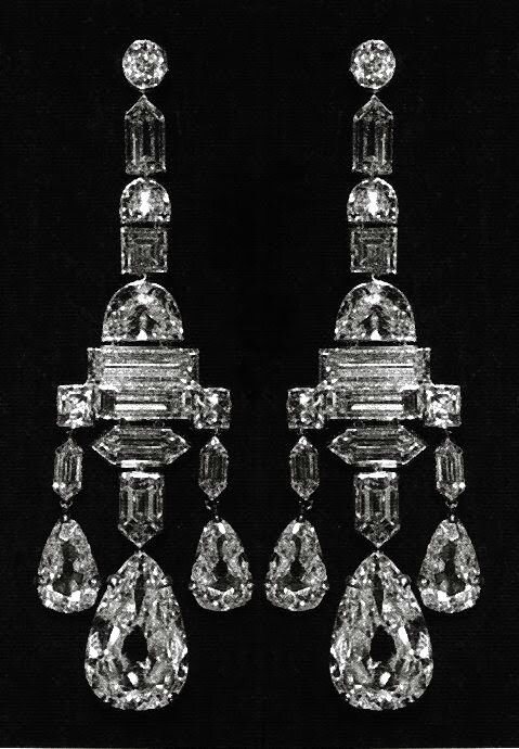 CARTIER. The Greville Chandelier Earrings