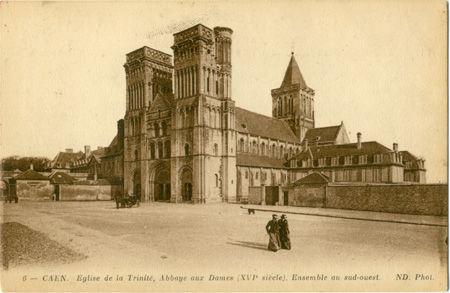 14 - CAEN - Eglise de la Trinité