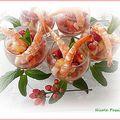 La crevette et les fruits rouges....et pourquoi pas?