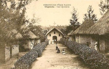 léproserie Ouganda