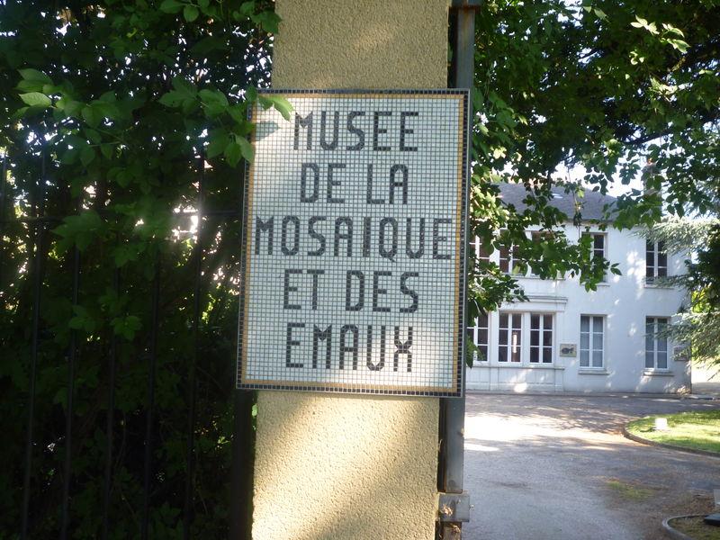 entrée du musée des émaux