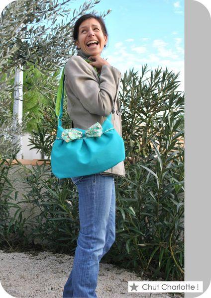 Sac bleu turquoise (6)