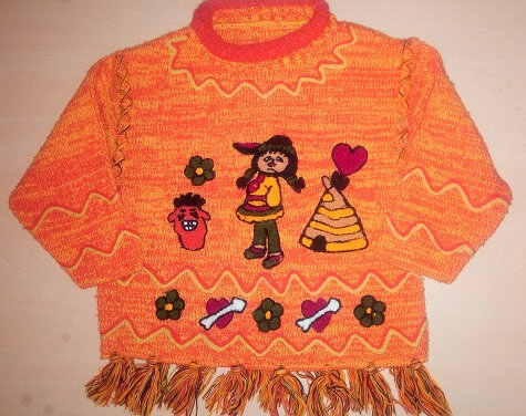 pull indienne