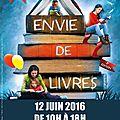 Envie de livres, Sailly Labourse 2016