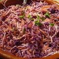 Des couleurs! mon coleslaw