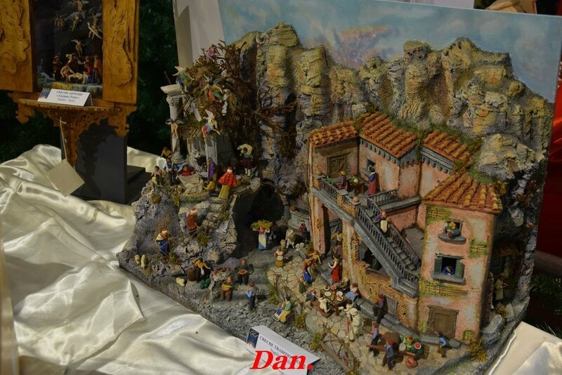 crèche traditionnelle Naples Italie