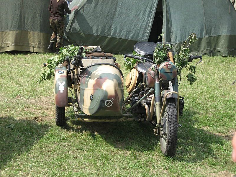 motos allemandes side car bmw r 75 et zundapp ks 750 normandie 1944 l 39 t de la libert. Black Bedroom Furniture Sets. Home Design Ideas