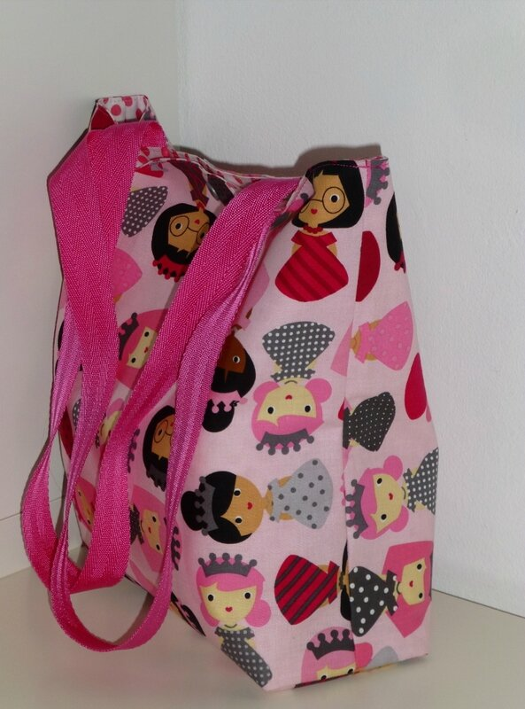 tote bag princesse PIKEBOU 1