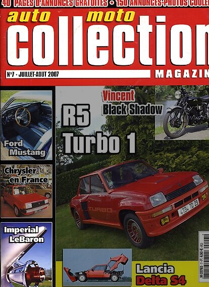 AutomotoCollection-n°7/juillet-2007