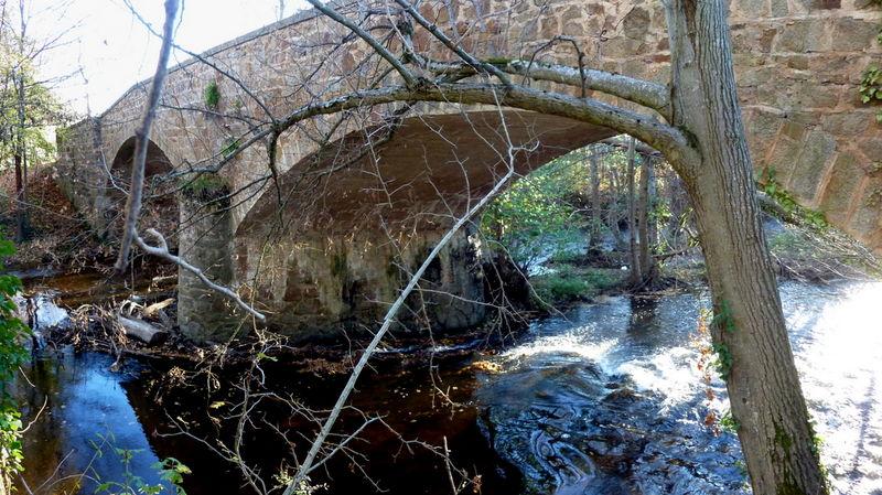 pont sur l'Ailloux à Parentignat
