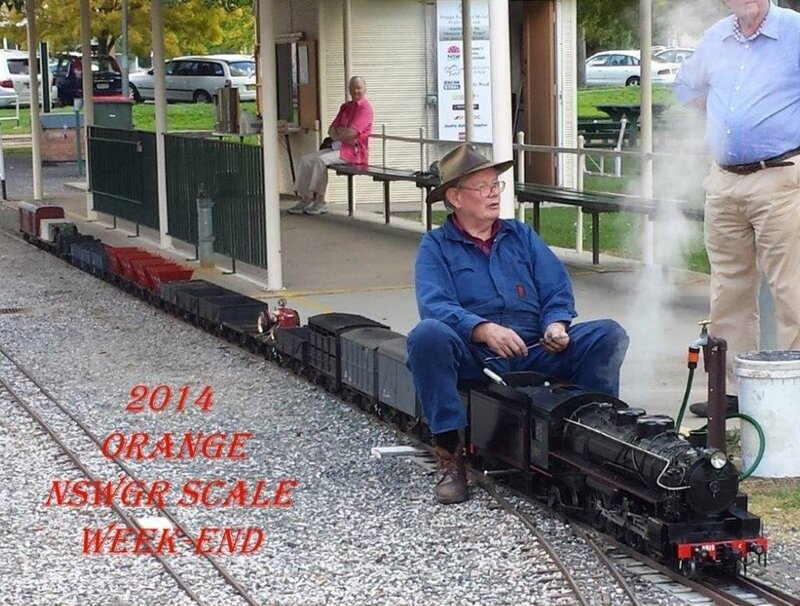 0113 Australie Orange NSW Miniature Railway Matthews Park 2014 B-P
