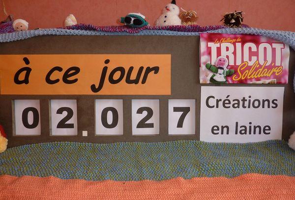 Tricot compteur 14 janvier 2013