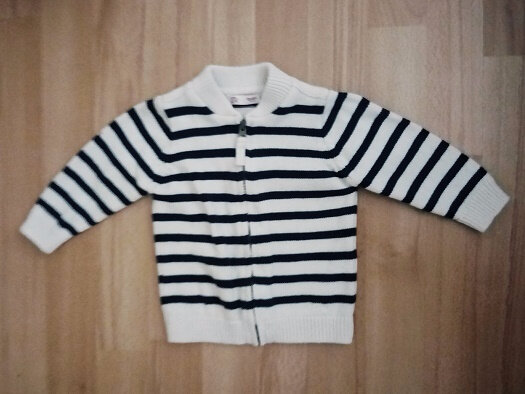 Gilet tricot marin, 1 an