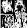 Shogo fait du vélo