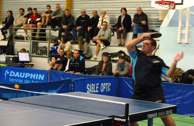Les matches du week end sabl sur sarthe tennis de table - Resultat tennis de table pro a ...