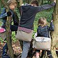 Trio de besaces pour enfants et nouvelle aventure...