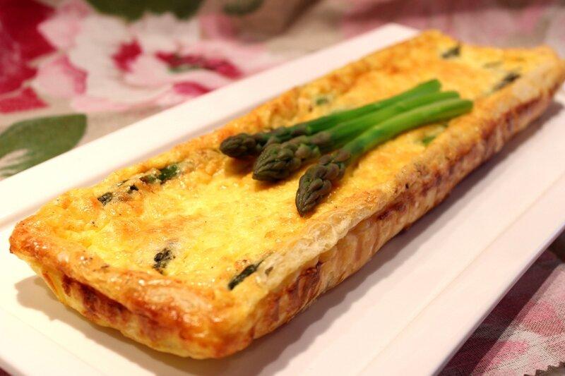 Quiche aux asperges vertes pour ceux qui aiment cuisiner for Cuisiner une entree