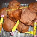 Muffins au carambars