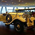 MERCEDES BENZ 24-100-140 PS roadster 1926 Stuttgart (1)