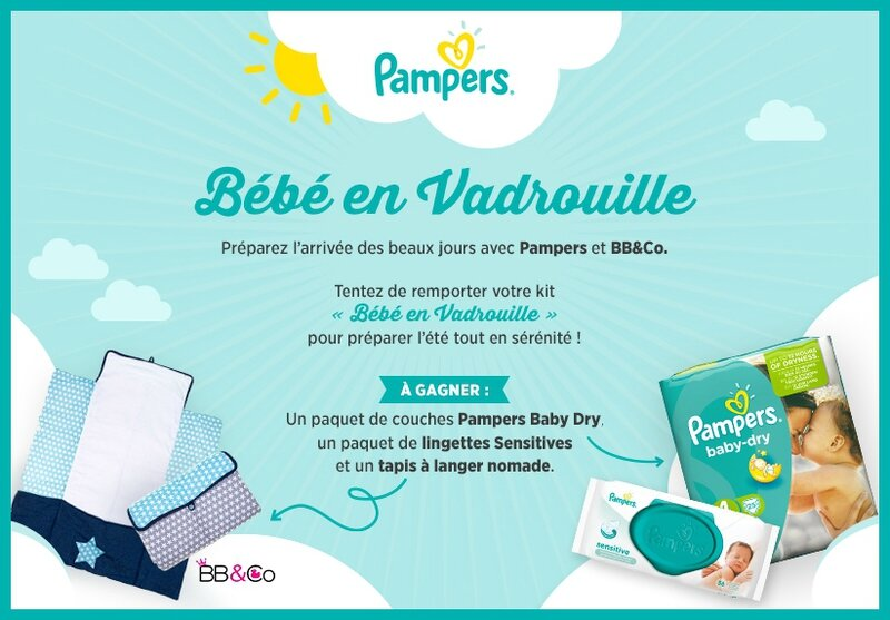 jeu concours pampers petitpotbebe