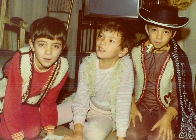 1975 François, le cousin Jean-François, Marc
