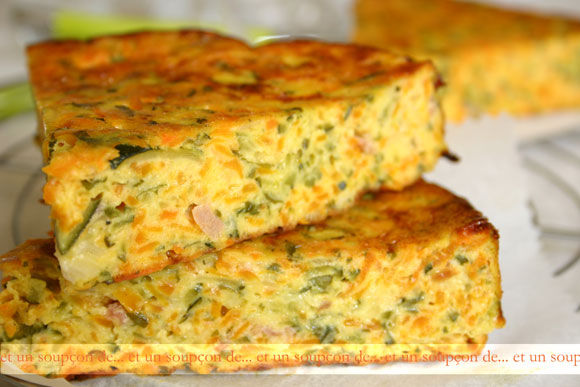 Cake Aux Courgettes Jambon Fromage