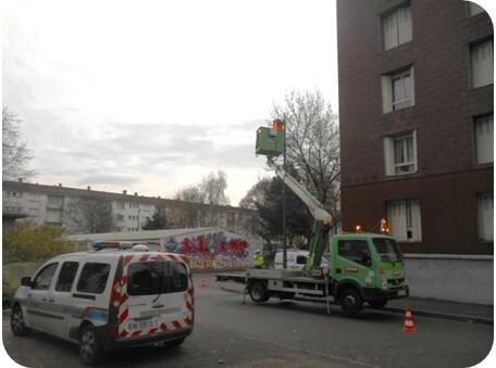 réinstallation caméra rue de la Navigation