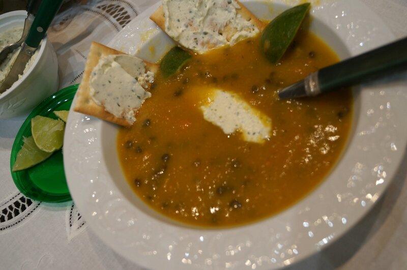 Soupe pommes de terre et poulet ou comment utiliser les - Comment utiliser le curcuma dans la cuisine ...