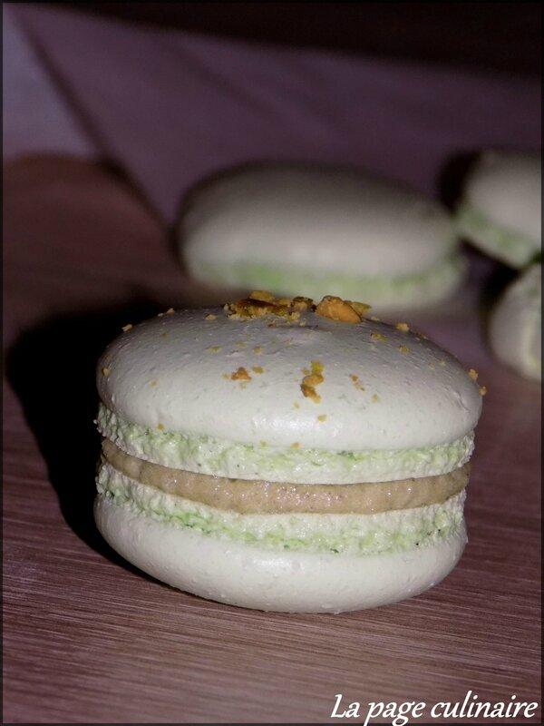 macarons pistache 13