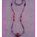 Collier BB Rose