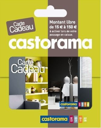carte cadeau castorama le blog de blackhawk network france. Black Bedroom Furniture Sets. Home Design Ideas