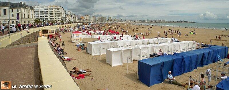 Les Sables d'Olonne - La grande plage
