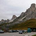 Le sommet du Passo di Giau 2233m.