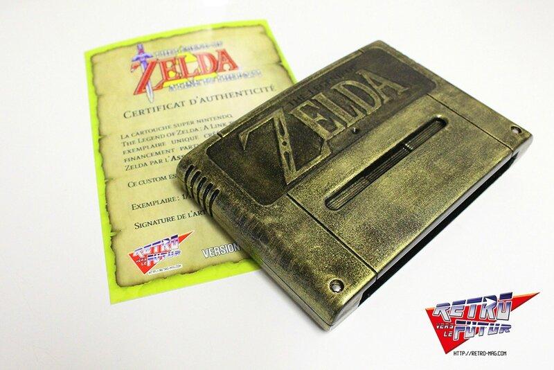 Zelda cartouche + certif