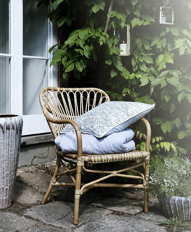 2015 05 Broste cph SS15 coussin thin leaf