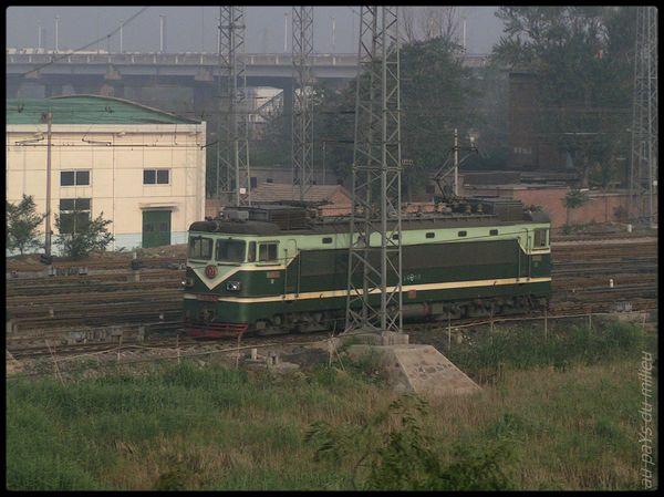 trains de Chine grande vitesse et petite vitesse 00