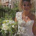 Création bijoux mariage très fin, en fil métalique