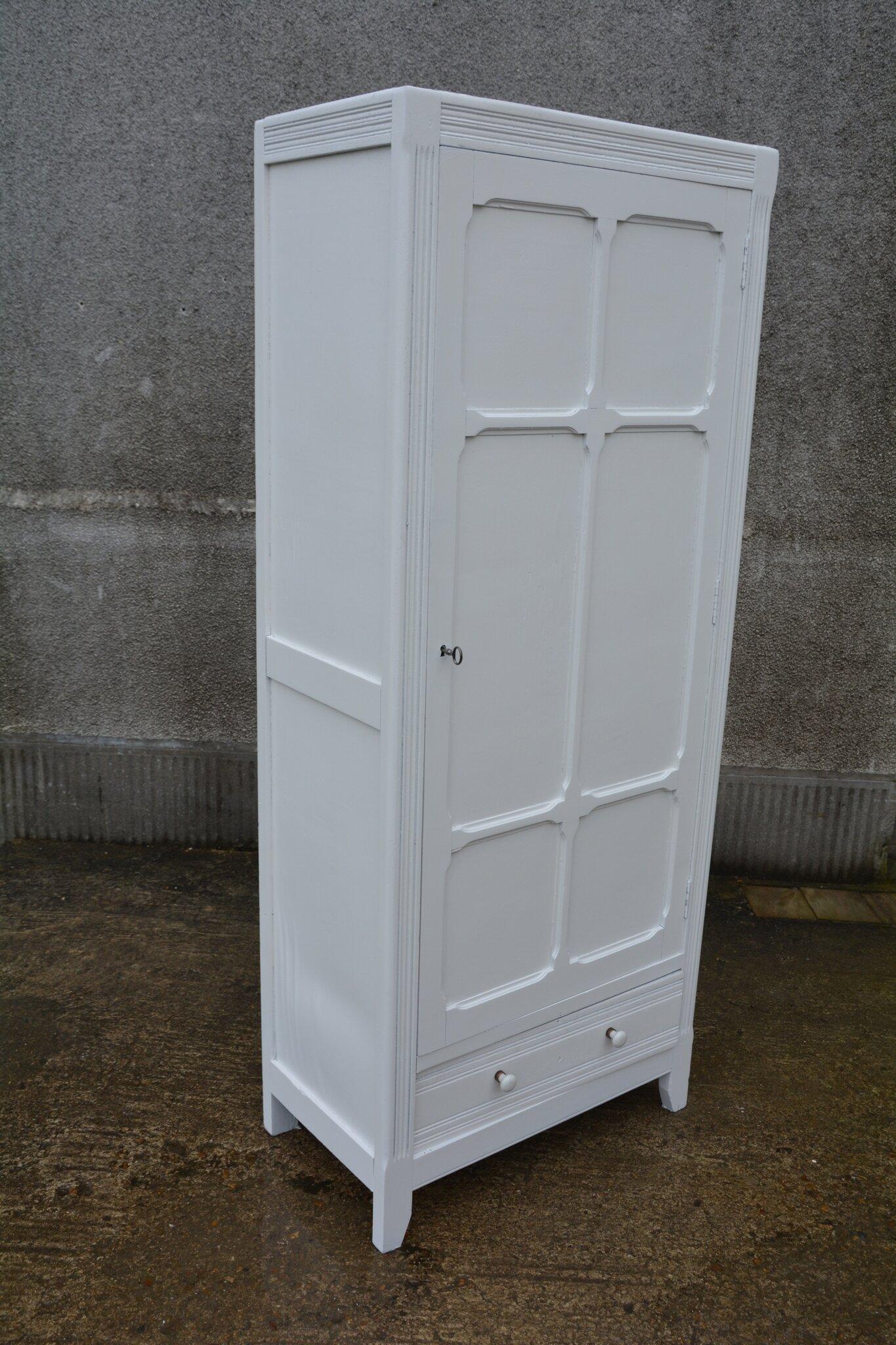 #594C3C Petite Armoire Parisienne Une Porte La Petite Brocanteuse 1021 armoire portes coulissantes frein 1365x2048 px @ aertt.com