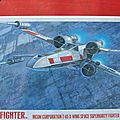 X-wing red five finemolds 1/48