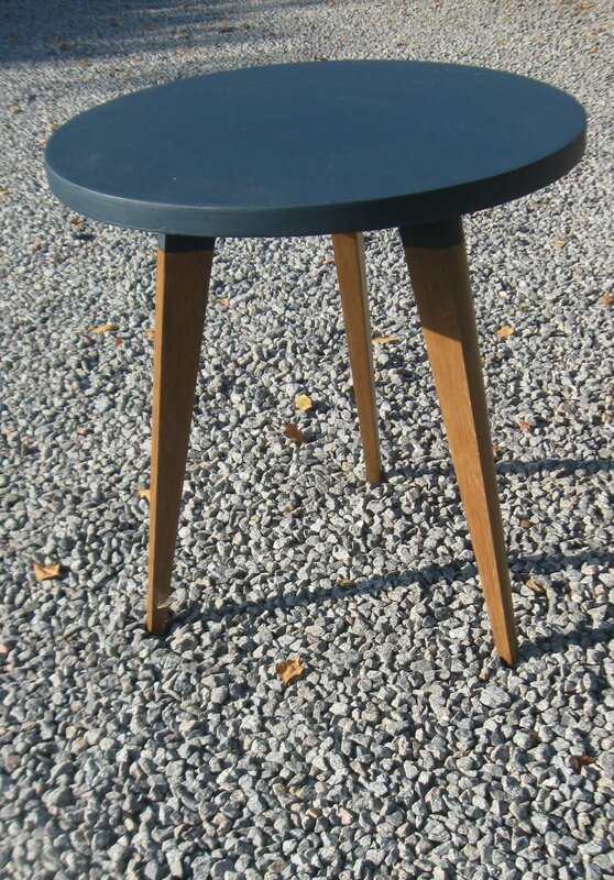table tripode annes 50 relooke rserve