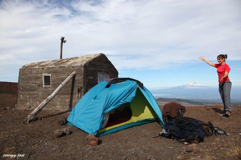 camp de base tente et cabane klu