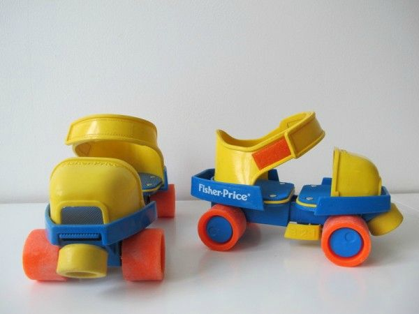 fisher-price patin a roulettes