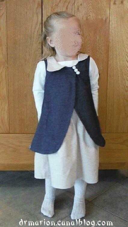 Robe Appliquée Agathe 2 ans 4