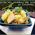 Salade de pommes de terre au cervelas