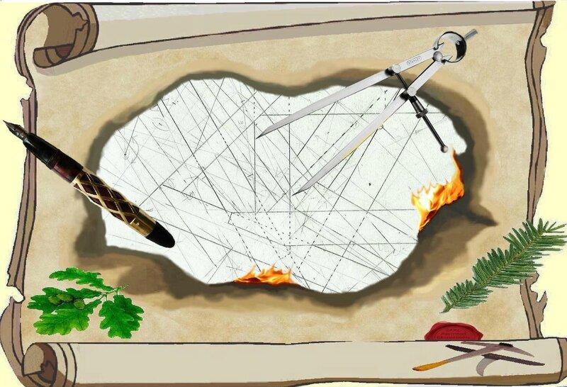 dessin de charpente