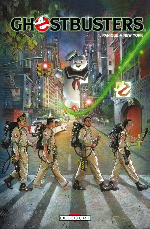 delcourt ghostbusters 1 panique à new york