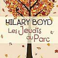 [lc] les jeudis au parc de hilary boyd (10 novembre)
