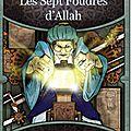 Les sept foudres d'allah - nicolas cluzeau