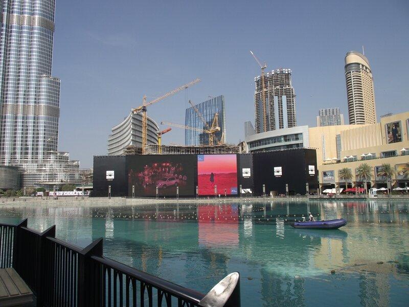 Plan d'eau Dubaï