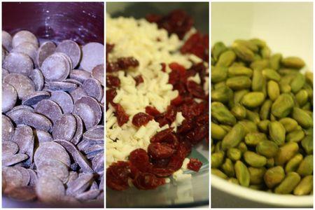 fondant choco cranberries pistaches blog chez requia